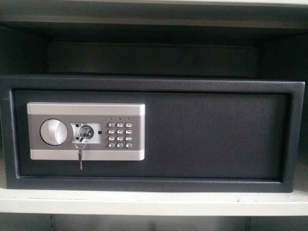 Solid Steel Small Gun Safe 32 Pounds , Gun Security Cabinet Anti Burglary