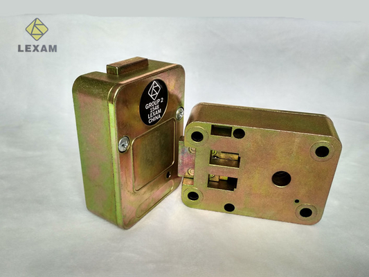 China Easy Installation Mechanical Safe Lock , Gun Safe Mechanical Lock For Storage Box distributor