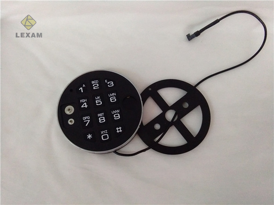 China Thin Electronic Door Lock Keypad LEXAM DE2010 Tangibly Quick Operations  distributor
