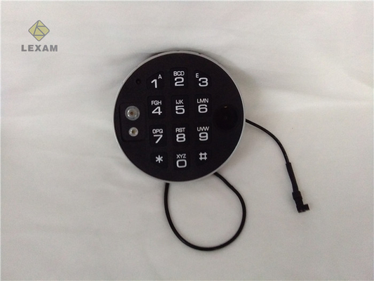 China Auto Relock Electronic Safe Lock Keypad  Burglary - Resistant For Vault Door distributor