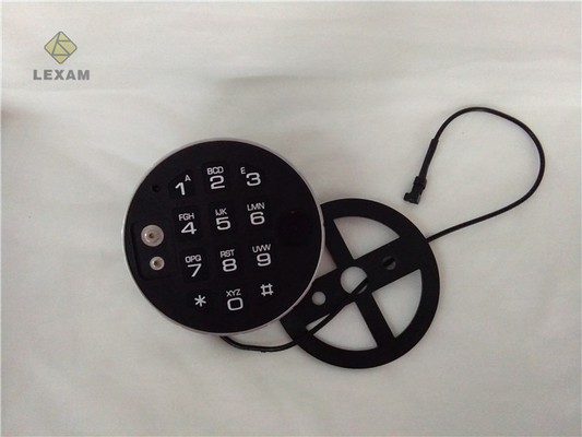 China Digital Electronic Safe Lock Keypad Durable  , Security Door Keypad For Gun Safe distributor