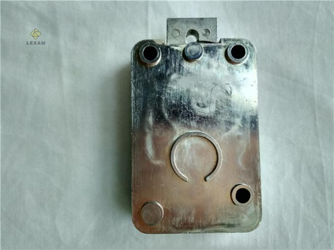 Automatic Retract Motor Safe Electronic Lock Zinc Plated Finish 44*44*8cm Size